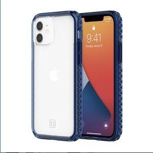 Incipio Grip Case for iPhone 12/12 pro Blue/Clear